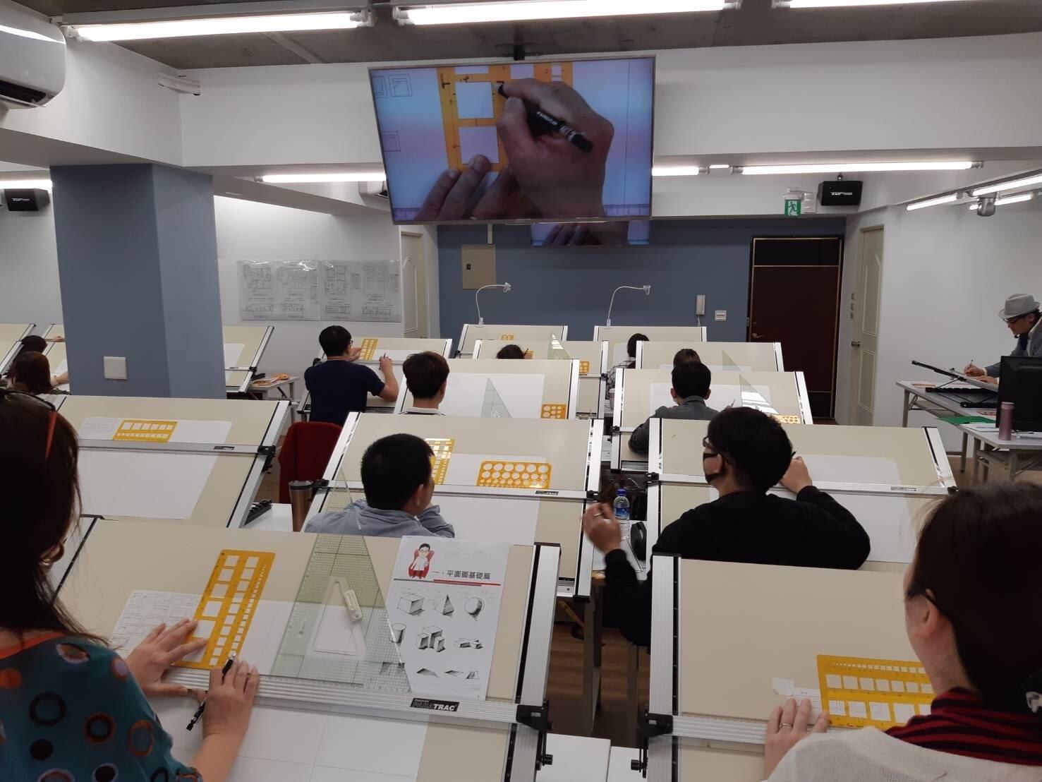報名室內設計乙級課程說明 建築物室內設計12500  建築物室內裝修工程管理12600 手繪透視圖(非考照班)